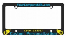 Silkscreen Plastic License Plate Frame