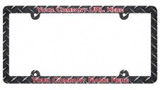 Full Color Plastic License Plate Frame